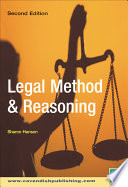 Legal Method And Reasoning