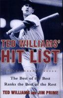 Ted Williams' Hit List : The Best of the Best Rank Pdf/ePub eBook