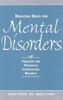 Pdf Reducing Risks for Mental Disorders