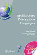 Architecture Description Languages Book PDF