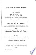 The Complete Poems (including Psalms I to L in Verse, and Other Hitherto Unpublished Mss.) ...