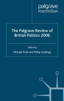 The Palgrave Review of British Politics 2006 Pdf/ePub eBook