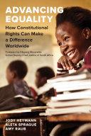 Advancing Equality Pdf/ePub eBook