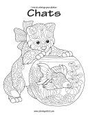 Livre de coloriage pour adultes Chats 1 & 2