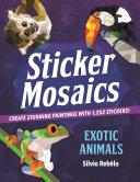 Sticker Mosaics: Exotic Animals
