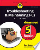 Troubleshooting   Maintaining PCs All in One For Dummies Book