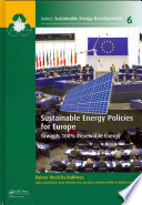 Sustainable Energy Policies for Europe Book