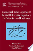 Numerical Time Dependent Partial Differential Equations for Scientists and Engineers Book