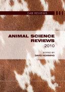 Animal Science Reviews 2010