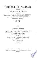 Yearbook of Pharmacy