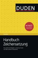Duden Ratgeber - Handbuch Zeichensetzung: Der praktische Ratgeber zu ...
