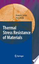 Thermal Stress Resistance Of Materials Book PDF