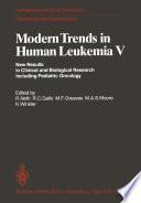 Modern Trends in Human Leukemia V