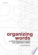 Organizing Words