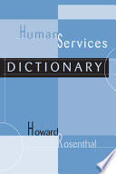 Human Services Dictionary Book