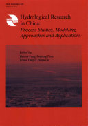 Hydrological Research in China Book