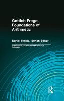 Gottlob Frege  Foundations of Arithmetic