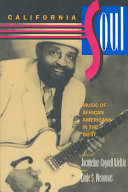 California Soul: Music of African Americans in the West