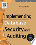 Implementing Database Security and Auditing