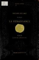 Pdf Histoire de l'art pendant la Renaissance. Italie. La Fin de la Renaissance Telecharger