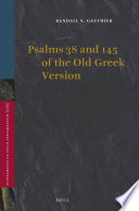 Psalms 38 And 145 Of The Old Greek Version