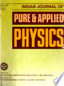 Indian Journal of Pure & Applied Physics
