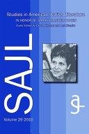 Pdf Studies in American Jewish Literature in Honor of Sarah Blacher Cohen Telecharger