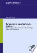 Fundamental- oder Technische Analyse