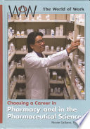 Choosing A Career In Pharmacy And In The Pharmaceutical Sciences Book PDF