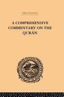 Pdf A Comprehensive Commentary on the Quran Telecharger