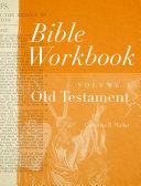 Pdf Bible Workbook Vol. 1 Old Testament Telecharger