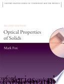 Optical Properties Of Solids Book PDF