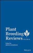 Plant Breeding Reviews Book