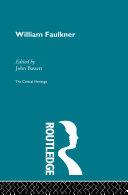 William Faulkner [Pdf/ePub] eBook