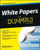 White Papers For Dummies Pdf/ePub eBook