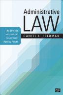 Administrative Law Pdf/ePub eBook