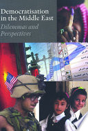 Democratisation in the Middle East Book PDF