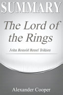 Summary of The Lord of the Rings