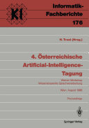 4    sterreichische Artificial Intelligence Tagung