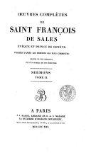 Oeuvres complètes de Saint François de Sales