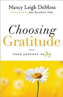 Choosing Gratitude