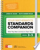 Your Mathematics Standards Companion  Grades 3 5