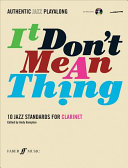 It Don T Mean A Thing Book PDF