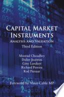 Capital Market Instruments Book