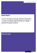 Career Trends in Female Medical Students. A study at Allama Iqbal Medical College / Jinnah Hospital, Lahore [Pdf/ePub] eBook