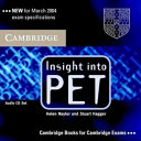 Insight into PET Audio CDs (2) by Helen Naylor,Stuart Hagger PDF