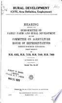 Hearings Before the Committee on Agriculture, House of Representatives, Ninety-second Congress