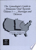 The Genealogist s Guide to Minnesota Vital Records  Marriages and divorces