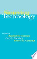 Sintering Technology Book