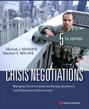Crisis Negotiations